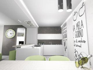 LTAB/LAB STUDIO Modern style kitchen