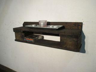 Regale Woodupcycling WohnzimmerAufbewahrung