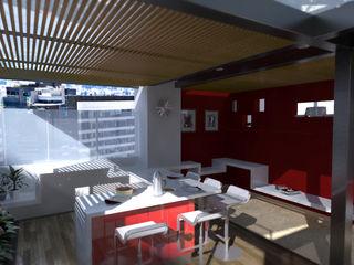 TERRAZA OJEDA Lápiz De Sueños Balcones y terrazas de estilo moderno