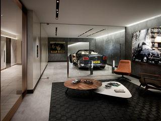 Folio Design   The Cricketers   Car Room Folio Design Garajes de estilo moderno