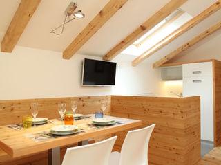 zanella architettura Comedores de estilo moderno