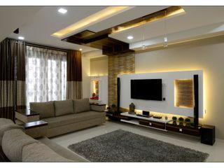 Spacemekk Designers p.LTD Living roomLighting