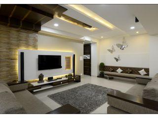 Spacemekk Designers p.LTD Living roomAccessories & decoration Brown