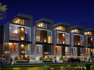 Spacemekk Designers p.LTD Modern houses Wood Brown