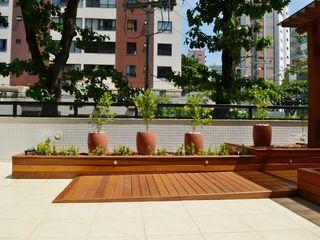Atelier Plural Modern Terrace Wood