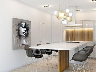 ZR-architects Minimalistische Küchen