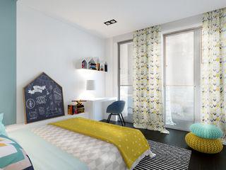 ZR-architects Moderne Kinderzimmer