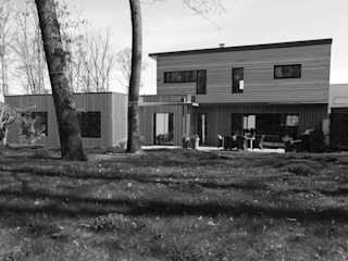 MAISON J. Amélie Jodeau Architecte Jardin moderne