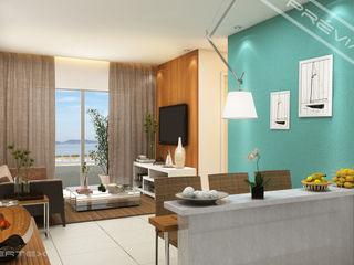 Studio HG Arquitetura Modern living room