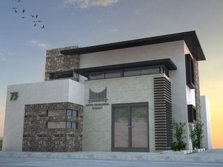 Acrópolis Arquitectura Minimalst style study/office