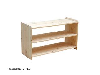 Woomo Baby Shelf Woomo Habitaciones infantilesAlmacenamiento Madera maciza Acabado en madera