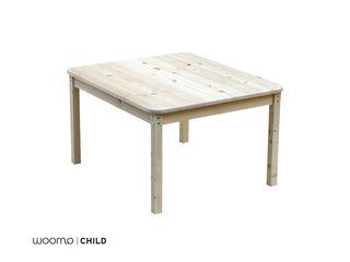 Woomo Classic table Woomo Habitaciones infantilesEscritorios y sillas Madera maciza Acabado en madera