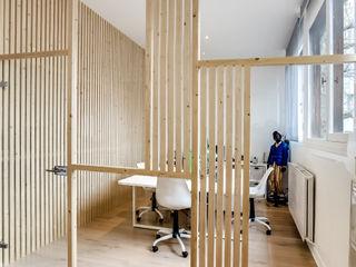 Transition Interior Design Edificios de oficinas Madera