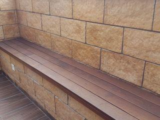 JRD Associates Varandas, alpendres e terraços clássicos Madeira Efeito de madeira