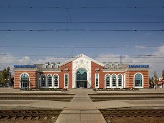 Kramatorsk station redevelopment VALENTIROV&PARTNERS Aeropuertos de estilo clásico