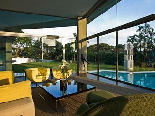 Casa AG oda - oficina de arquitectura Salones modernos
