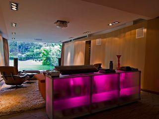 Casa MR oda - oficina de arquitectura Salones modernos