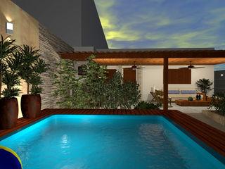 Konverto Interiores + Arquitetura Piscinas de estilo moderno