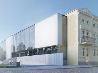 PL+sp. z o.o. Modern museums Glass White