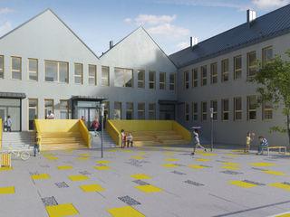 PL+sp. z o.o. Modern schools Grey
