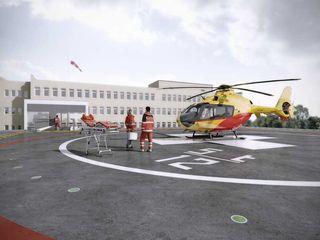 PL+sp. z o.o. Modern hospitals White