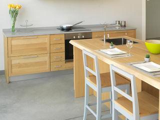 LA BOTTEGA DEL FALEGNAME Kitchen Solid Wood Grey