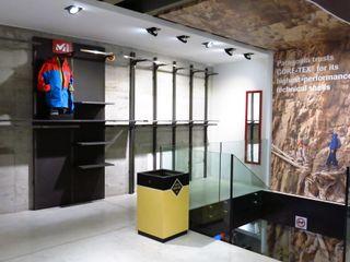 Millet Mountain Shop Andrea Gaio Design Commercial Spaces