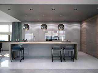 Kitchen. Options. USA KAPRANDESIGN Кухня в стиле минимализм МДФ Серый
