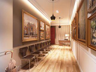 Maximov Studio. New York KAPRANDESIGN Выставочные павильоны в скандинавском стиле Дерево Бежевый