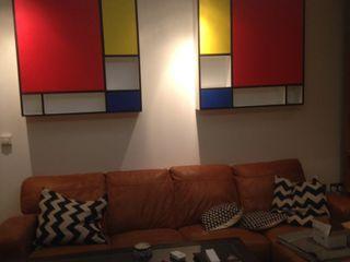Livingroom woodstylelondon Salas/RecibidoresCajoneras