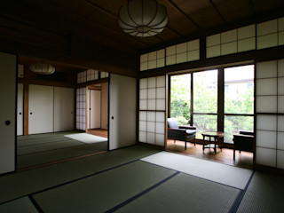 Sakurayama-Architect-Design Azjatycki pokój multimedialny