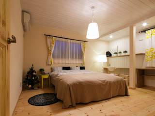 dwarf Scandinavian style bedroom