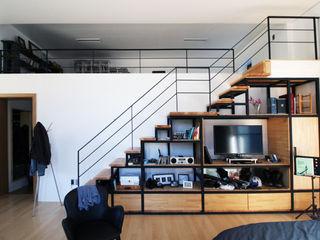 SHIN DESIGN LAB 신디자인랩 Livings modernos: Ideas, imágenes y decoración