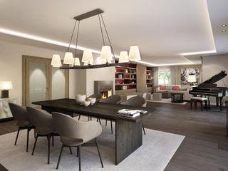 Innenarchitektur 3D-Visualisierung winhard 3D Klassische Wohnzimmer