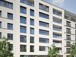 Architektur 3D-Visualisierung winhard 3D Moderne Häuser