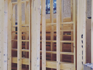 Back at the Office! Building With Frames Modern Houses Wood