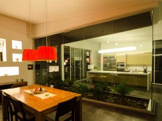 PLANTA BAJA ESTUDIO DE ARQUITECTURA Tropical style dining room