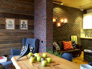 homify Living room Wood Wood effect