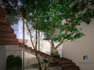 PORTO Arquitectura + Diseño de Interiores Pasillos, vestíbulos y escaleras modernos
