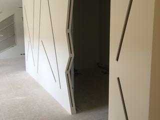 Felipe Lara & Cía Офисные помещения в стиле модерн Полиэстер Белый
