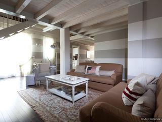 ADI ARREDAMENTI Living room Wood Grey