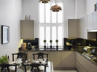 Marlowe House, Chigwell Boscolo Dapur Modern