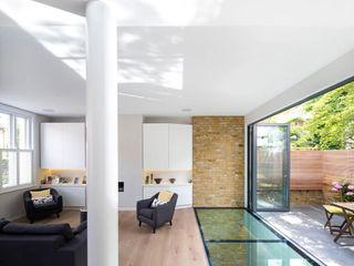 Brackenbury House Neil Dusheiko Architects Living room
