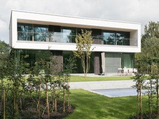 house JV-K Niko Wauters architecten bvba حديقة