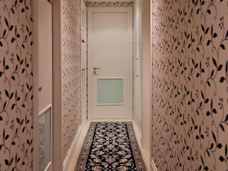 Ana Levy | Arquitetura + Interiores Koridor & Tangga Modern White