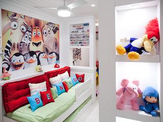 Ana Levy | Arquitetura + Interiores Kamar Bayi/Anak Modern Multicolored