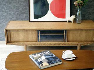 Live Sumai - アズ・コンストラクション - Living roomTV stands & cabinets Wood Wood effect