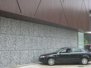Celebi Yapı Shopping Centres Metal Grey