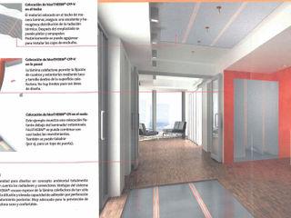 Sistemas de calefacción HeatGold HeatGold Pasillos, vestíbulos y escaleras de estilo clásico