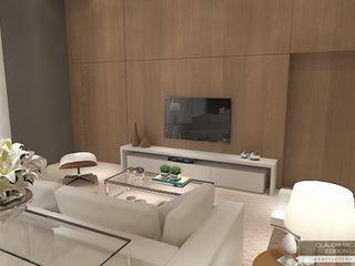 Horta e Vello Arquitetura e Interiores Modern living room Wood Wood effect